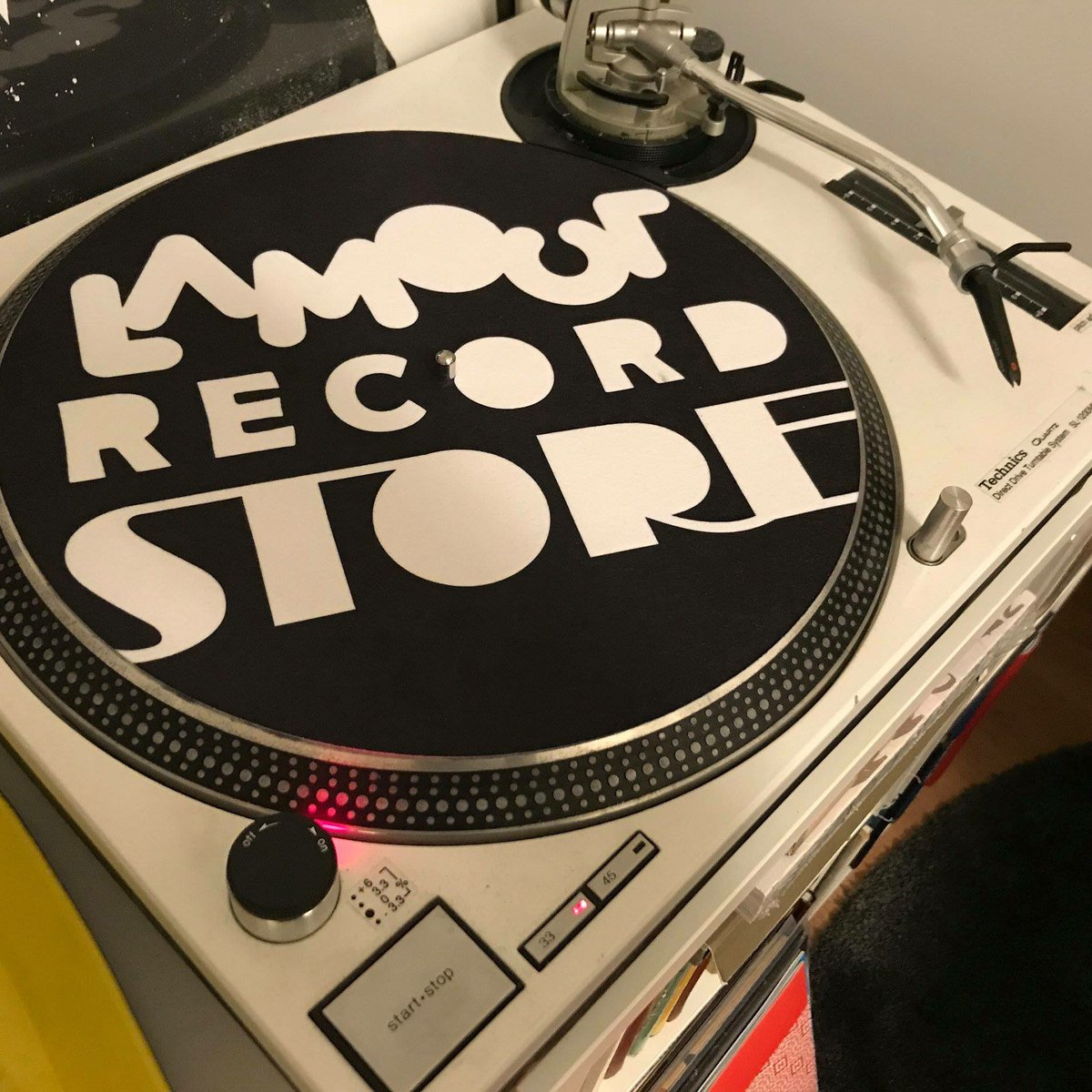 Lamour records on Twitter: