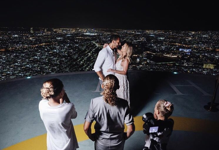 She said yes 👏🏻💘 Congratulations @xkatiewright & @rioferdy5 💍✨
