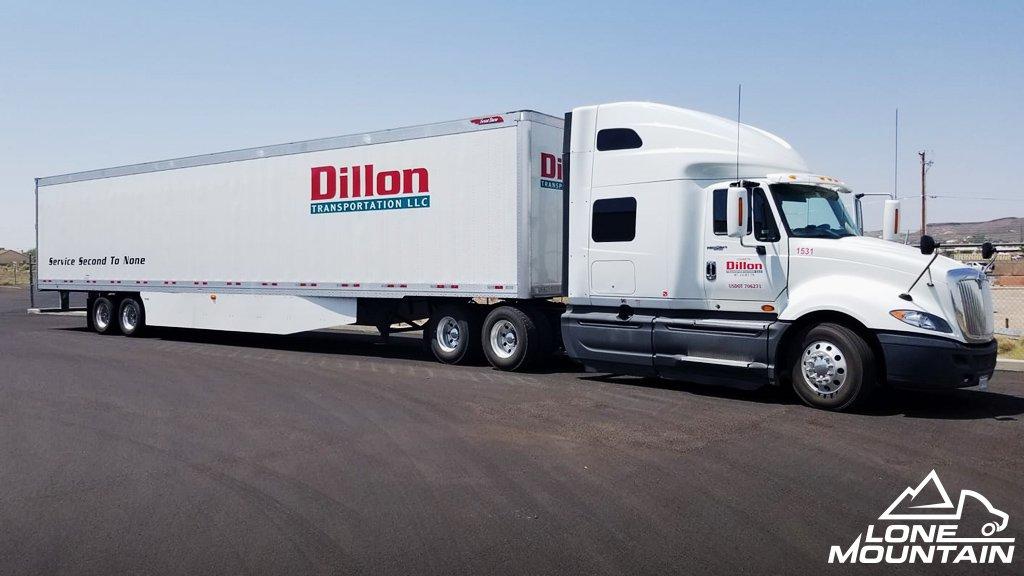 Lone Mountain Truck Leasing On Twitter Jeff S Runs Two Trucks