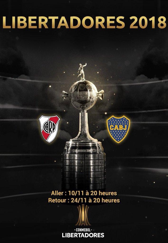 Boca-River derby de Buenos Aires pour la finale 2018 @ndirediallo @segadiallo @TanouDiallo18 @makadjiamadou