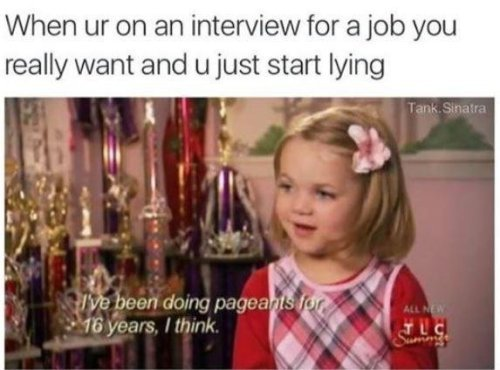 Funny Memes On Twitter Lying On Your Resume Be Like Memes Meme
