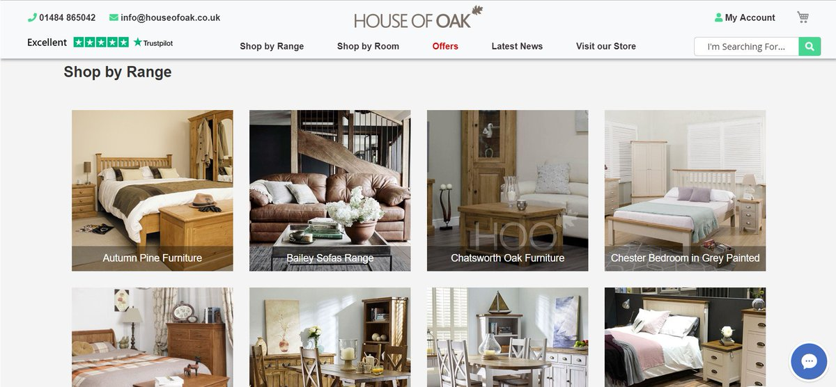 New Website Launched For House Of Oak #oakfurniture The New Website  Features U201cshop By Rangeu201d, U201cshop By Roomu201d And Our U201clatest Offersu201d. Find Out  More On ...