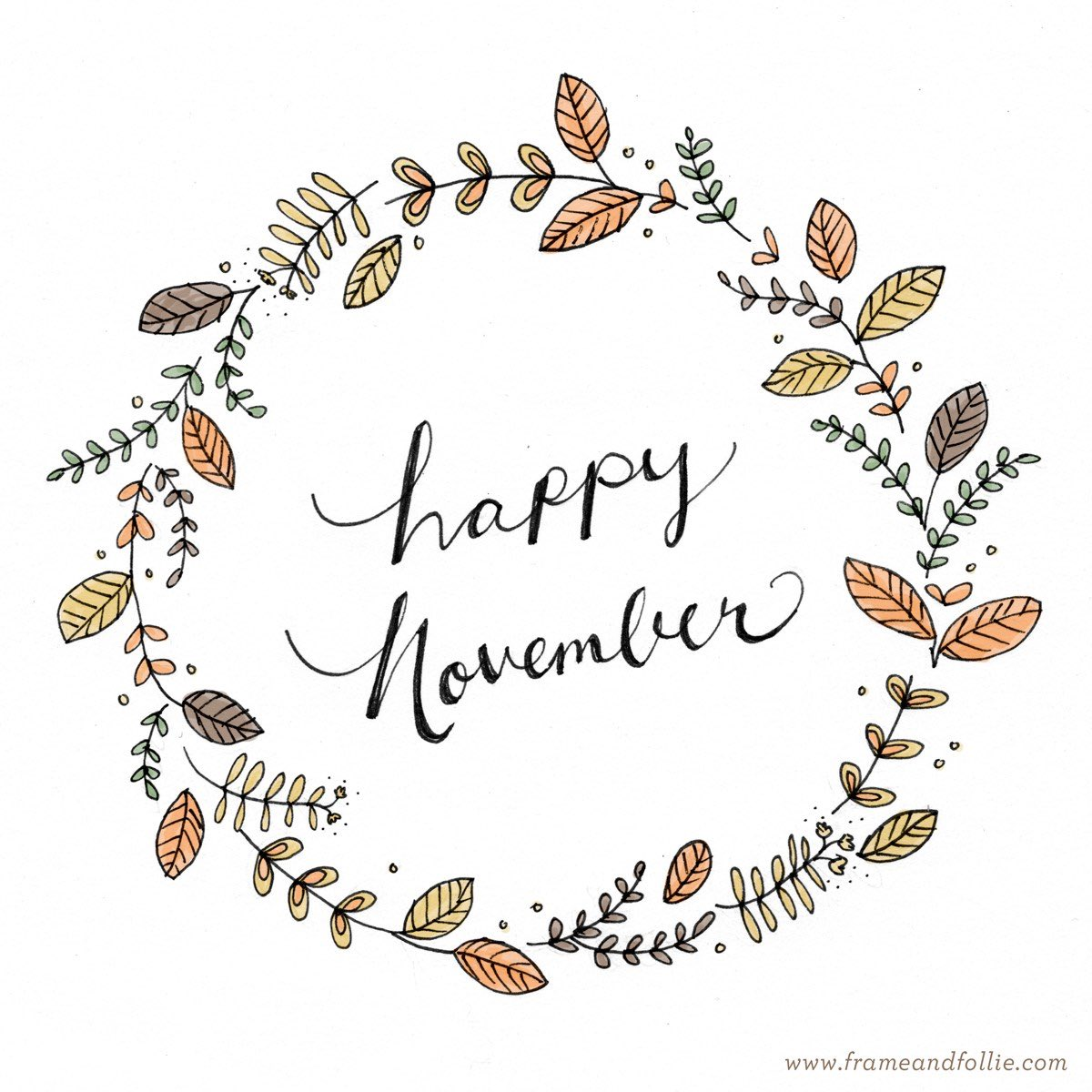 November Happy pictures