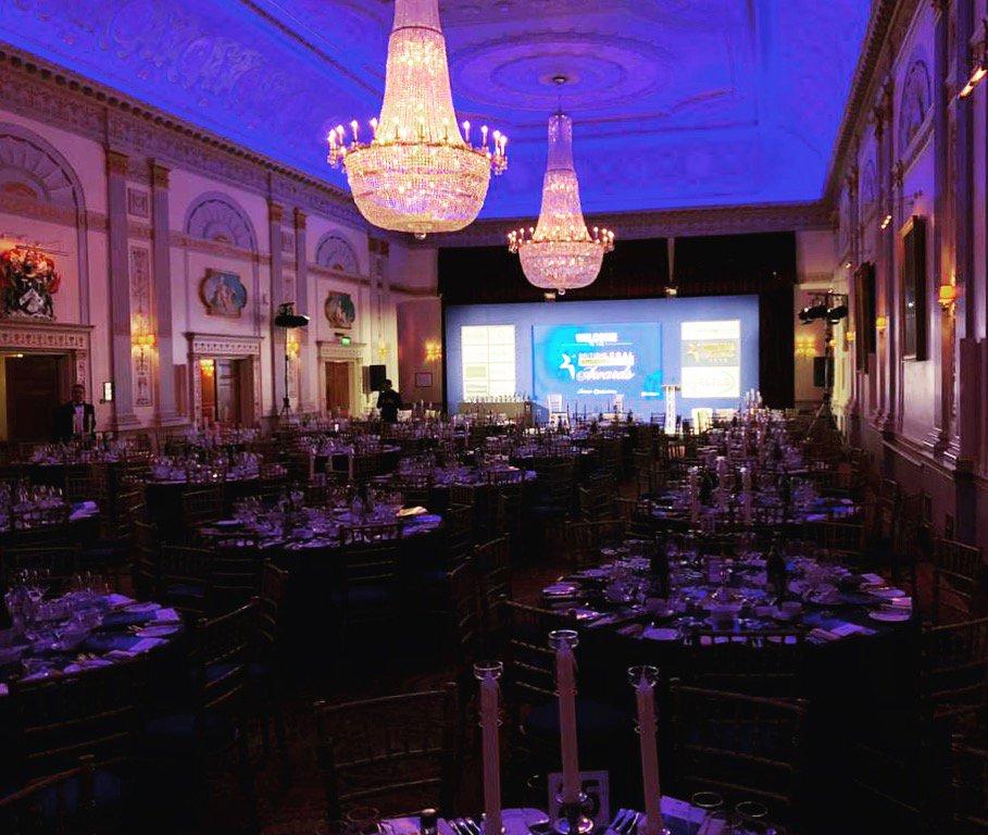 We are ready to go @plaisterershall tonight for #Britishlegaltechnologyawards with @netlawmedia #EOL #eventprofs #awardsdinner #london