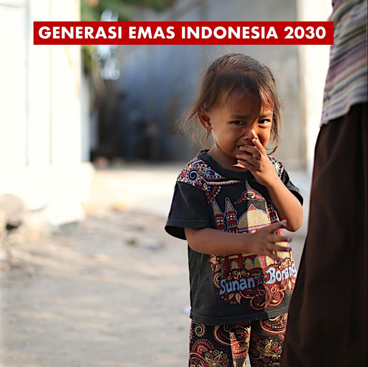 Kita dengar ttg bonus demografi Indonesia 2020-2030. Bonus demografi mengandung makna jumlah usia-produktif 15-64 tahun akan mencapai 70%. Ini merupakan masa2 keemasan Indonesia melakukan percepatan  terutama sektor ekonomi. Di pundak mereka kita letakkan harapan kita bersama https://t.co/nbeDjloPHe