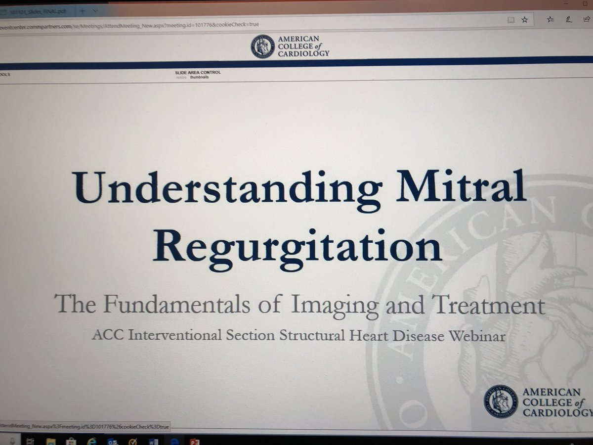 Register NOW for the ACC webinar about to start at 7 pm EDT.