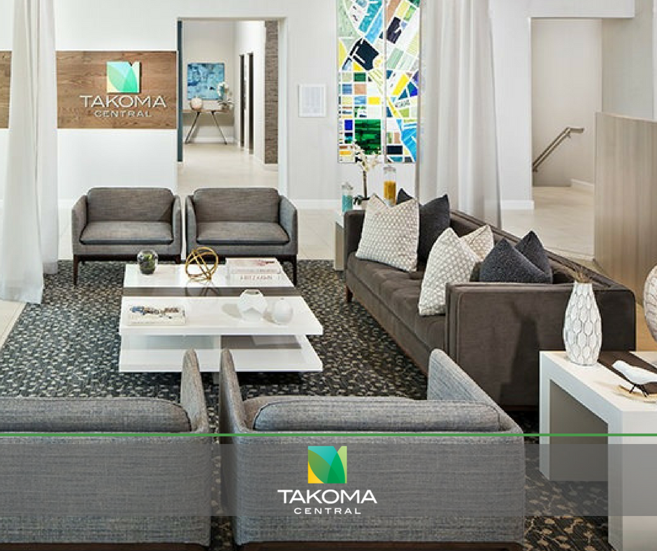 Residents can meet neighbors and relax by hanging out in our on-site resident lounge. We have a television for big games and a shuffleboard for even bigger ones!  See what else our community offers: https://takomacentral.com/
