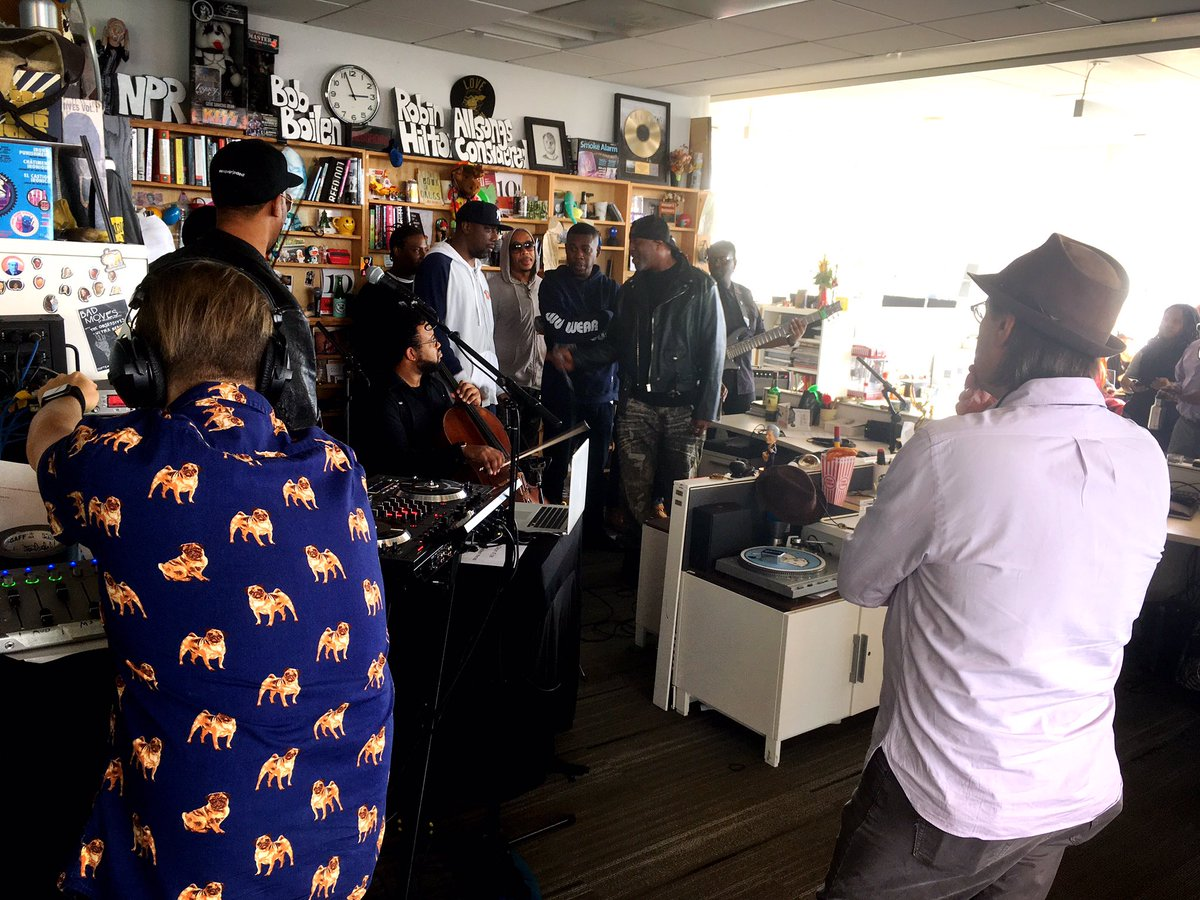 Wu-Tang is for the #TinyDesk. https://t.co/LMlGEkoo6t