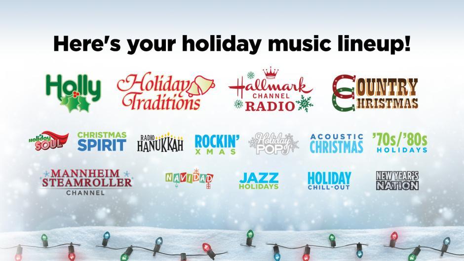 Siriusxm Christmas 2019.Siriusxm On Twitter Icymi We Have 16 Commercial Free
