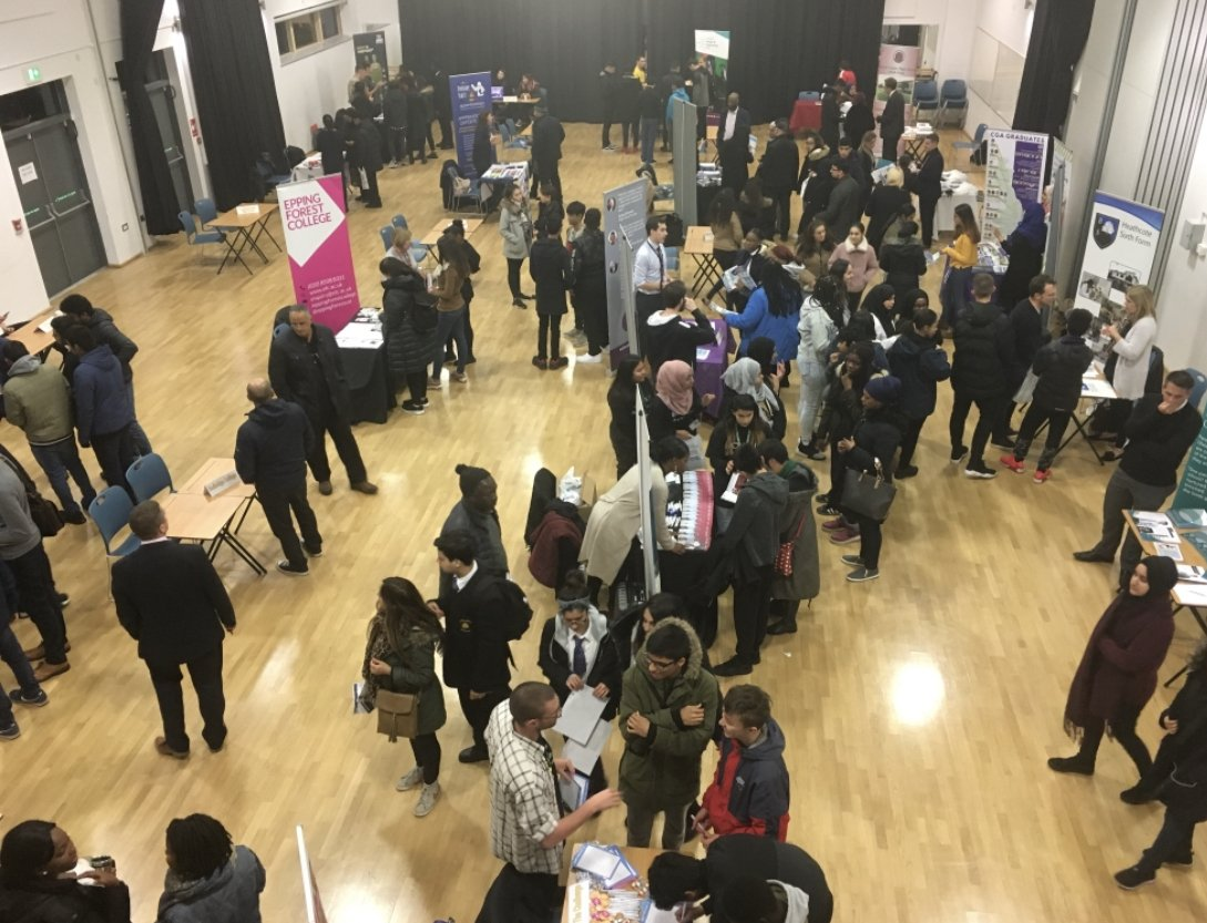 Our year 11 students are now fully informed about their college and 16+ options.  Thanks to all the contributors at the @WillowfieldSch College Roadshow this evening.