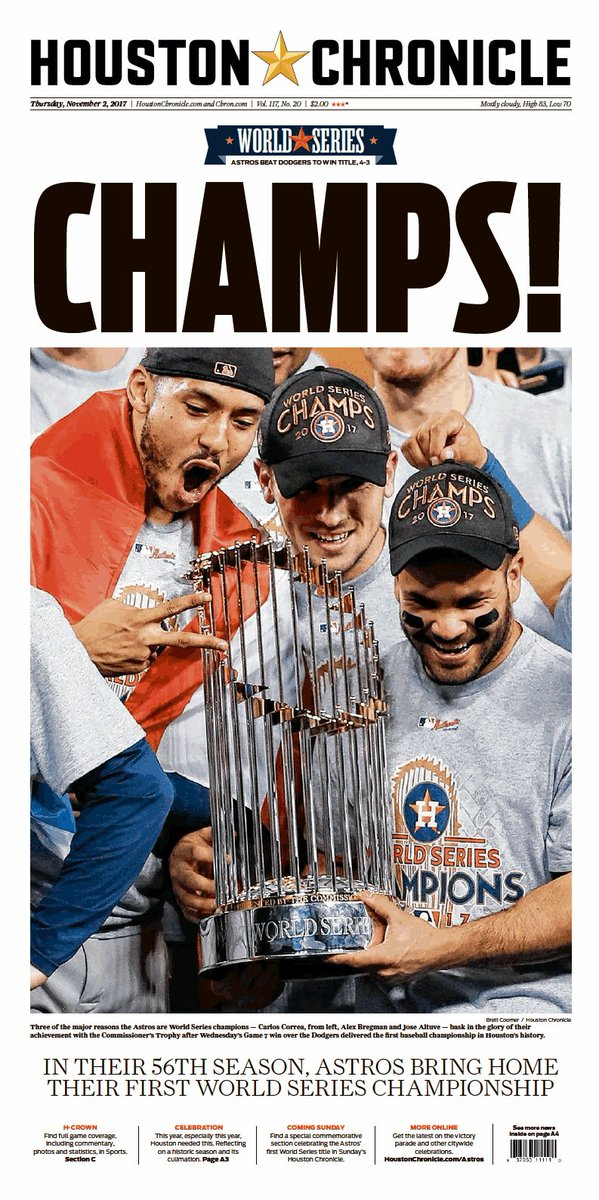 4764e6d89dde Series MVP George Springer doubles and homers to spark a five-run rally in  the first two frames. http   astrosdaily.com history thisdate  1101 … ...
