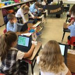 Image for the Tweet beginning: Practicing subtraction on IXL #ipads