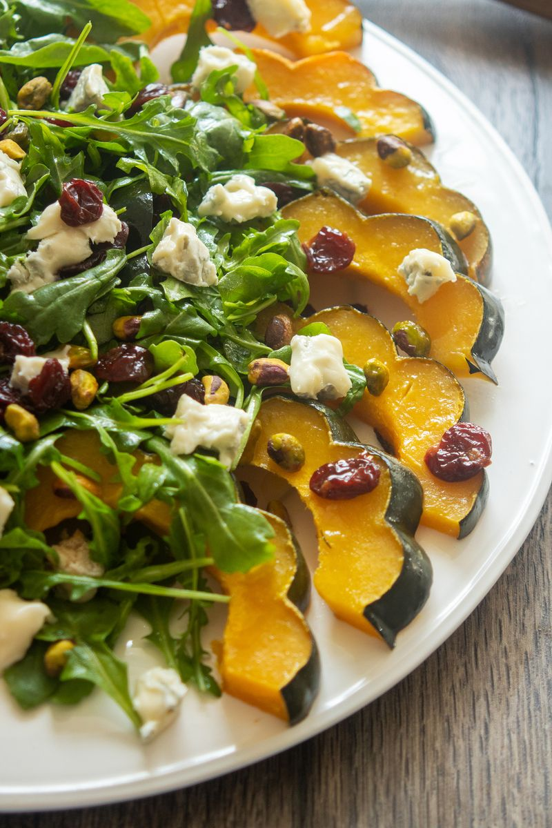 @Giadzy: Your new fall side dish! Roasted Squash with Dried Cherries & Pistachios:  https://t.co/mnCVCpCm73 https://t.co/2Wf9Qy8amM
