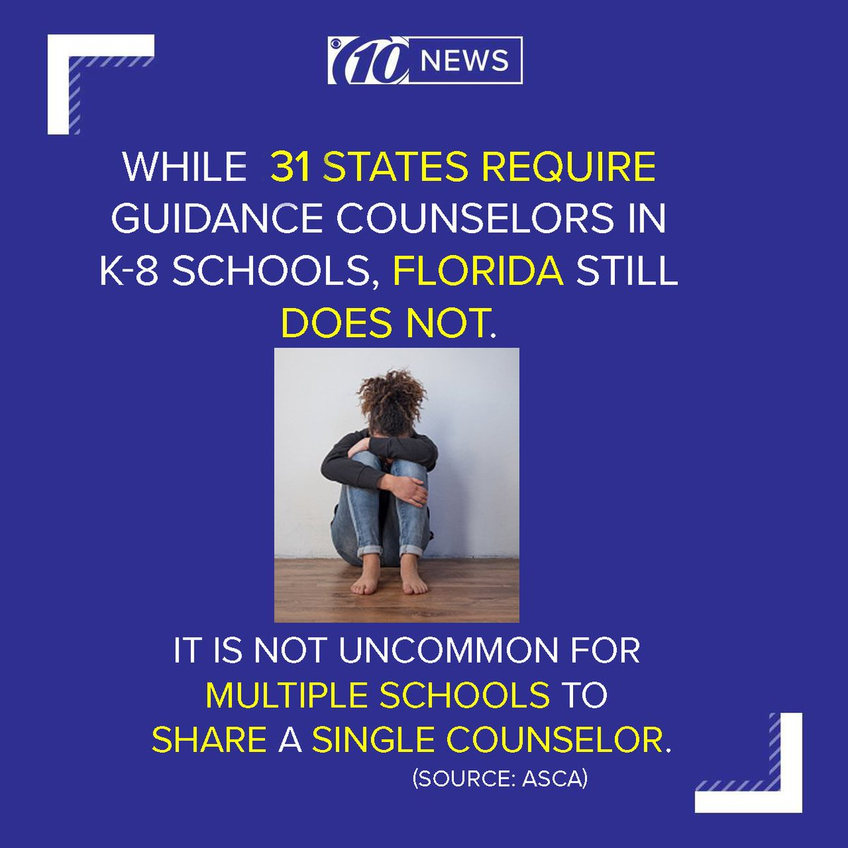 10news Wtsp On Twitter 31 States Require Guidance Counselors In K