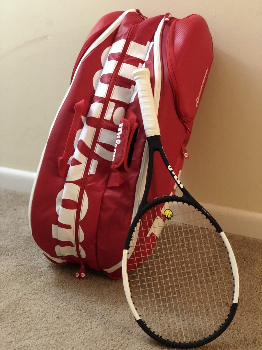 Wilson Tennis On Twitter That S The Pro Staff 9 Pack Bag And One