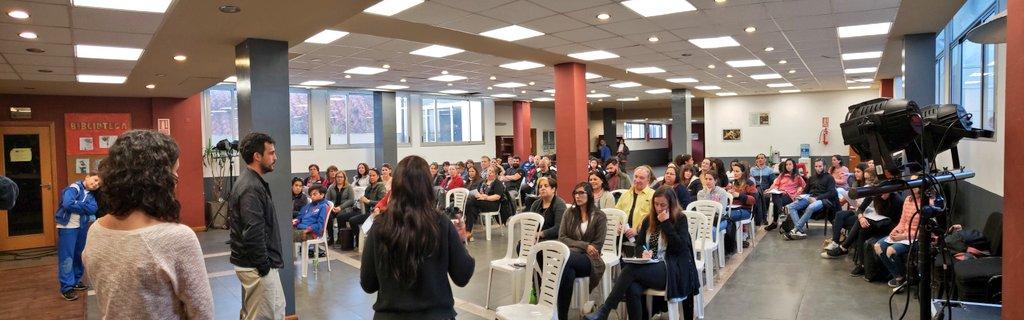 Comienzo de los Talleres de Intercambio en Lenguas de Señas en la FFSP.  #FFSP #COFE #PITCNT #CLATE