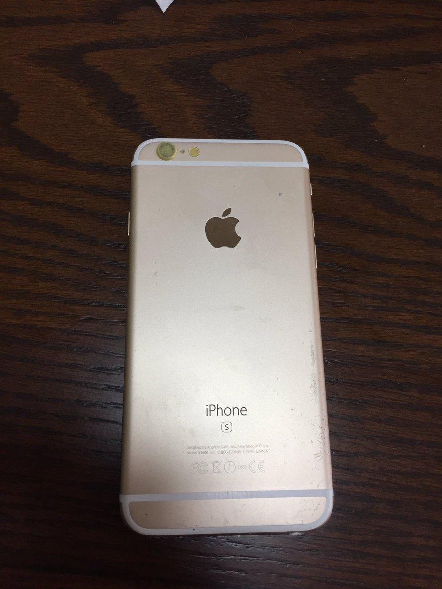 iPhoneケースいいのんなかったから磨いて鏡面にしたった(笑)