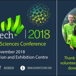 Thank you to our AusBiotech 2018 student volunteers! Your help has been much appreciated