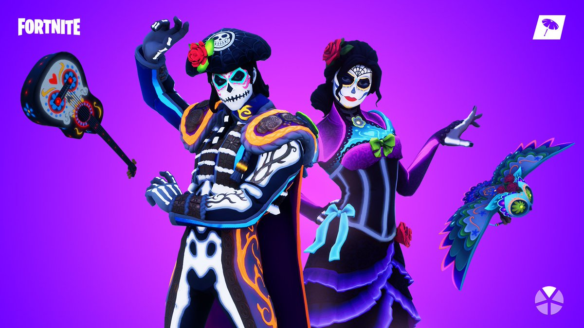 Fortnite On Twitter Free Your Spirits The New Muertos Gear Is
