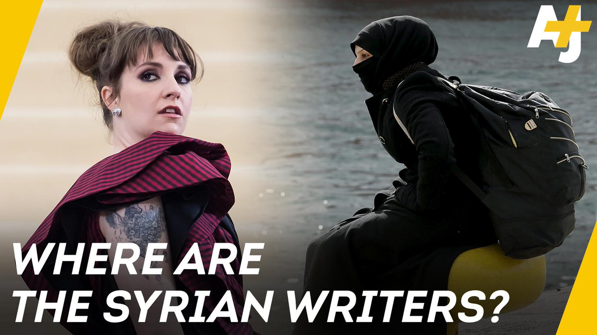 Hollywood chose Lena Dunham to write a movie about a real-life Syrian refugee.