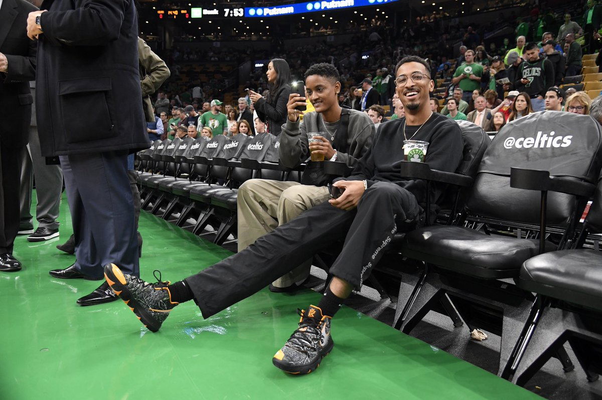 f4b23f9a3fa5 oddfuckingtaco and kyrieirving wearing the nike kyrie 5 taco pe releasing  on november 16 for 130