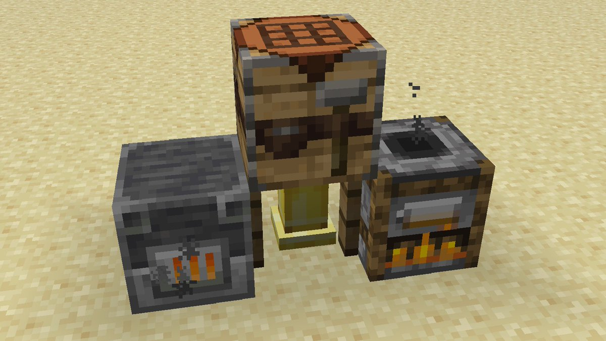 NEW Crafting Tables/Furnaces in Minecraft 1 14 (Snapshot
