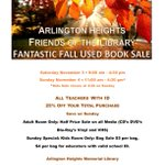 Image for the Tweet beginning: Big used book sale at