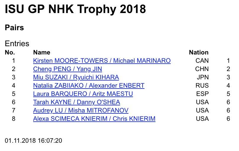 GP - 4 этап. Nov 09 - Nov 11 2018, NHK Trophy, Hiroshima /JPN - Страница 2 Dq9q9B7U4AAHiwI