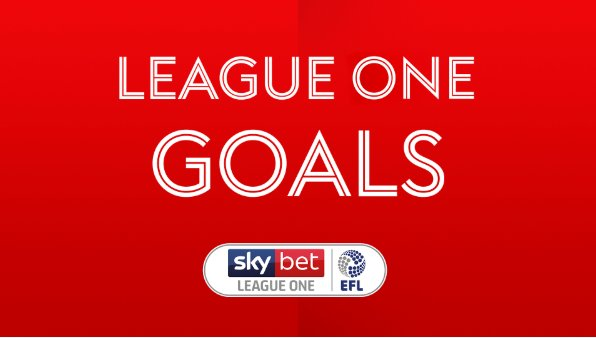 WATCH LEAGUE ONE GOALS  Watch all of the highlights from Saturday's fixtures here: https://t.co/3agRi1B7w7