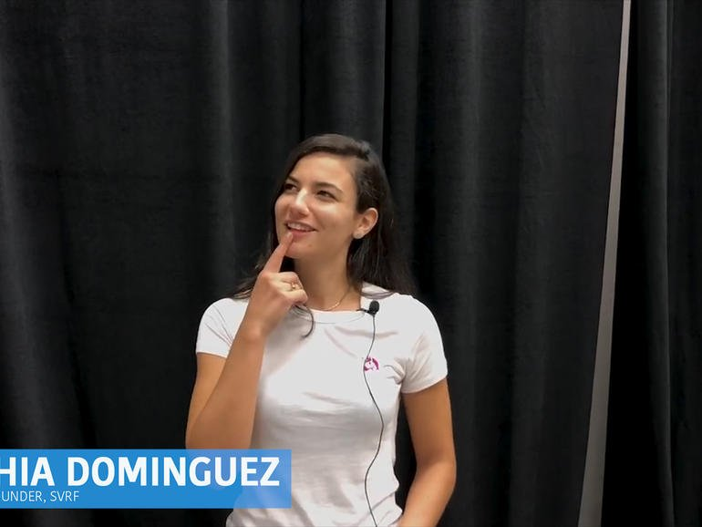 At the 2018 Grace Hopper Celebration, Sophia Dominguez, CEO and co-founder, SVRF, Inc., explained the business use cases for AR and VR. https://t.co/Zp9vVLW2IL