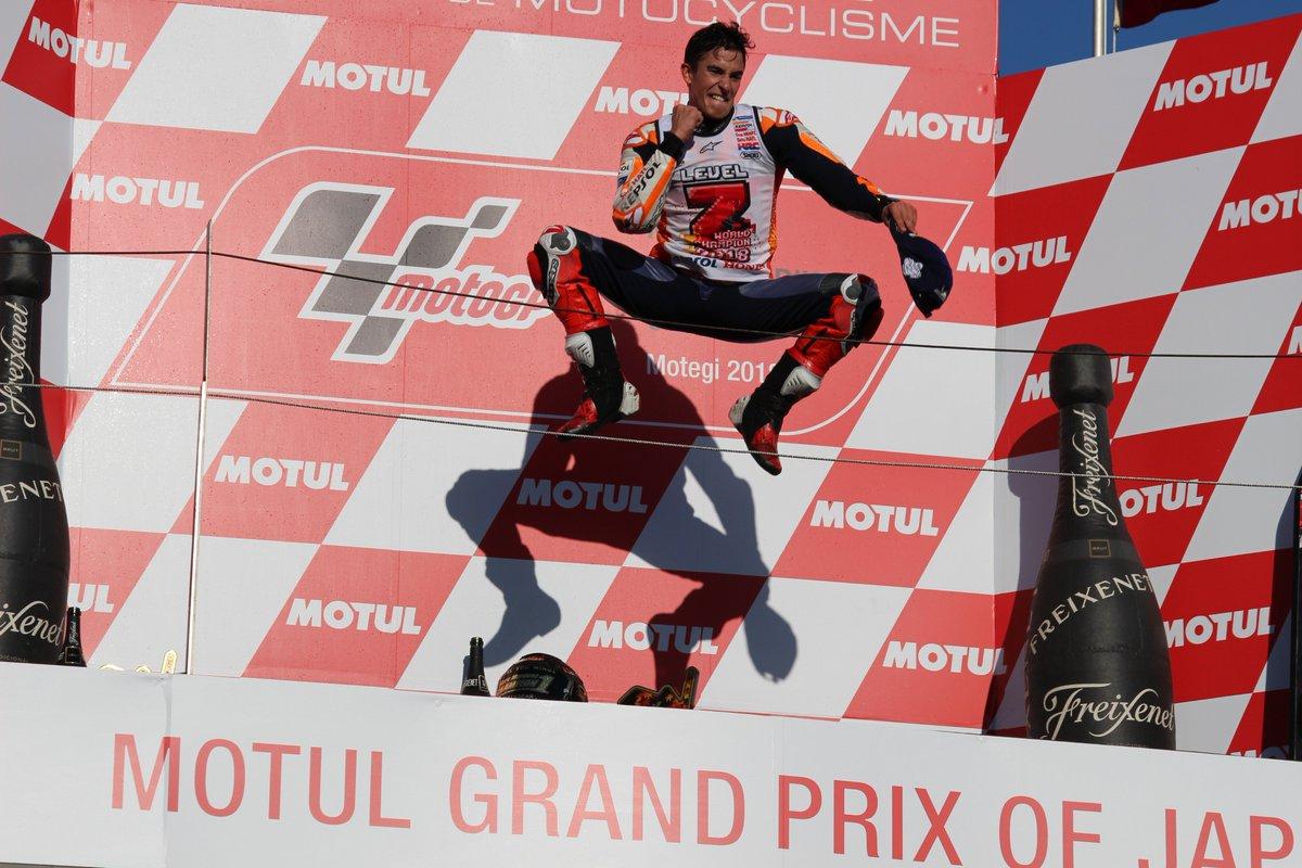喜びが爆発しています!  #MotoGP #Level7 #HondaMotoGP