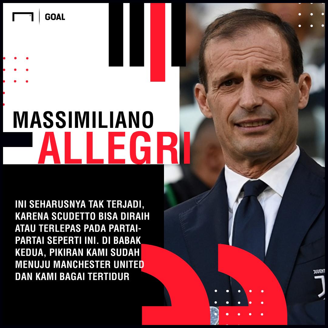 Massimiliano Allegri: Juventus Bagai Tertidur! https://t.co/gwXu1O4gMt https://t.co/eXlXiqhTGd