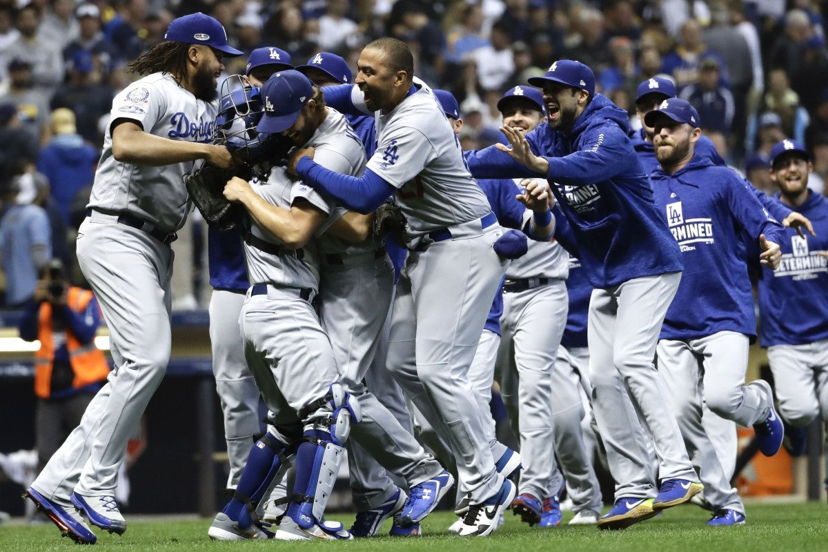 Dodgers whip Brewers in Game 7 to advance to the World Series https://t.co/4TKCv4jgOo