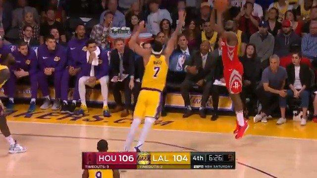 James Harden step-back! ☔️  #Rockets @ESPNNBA https://t.co/5U7kHkHrFx