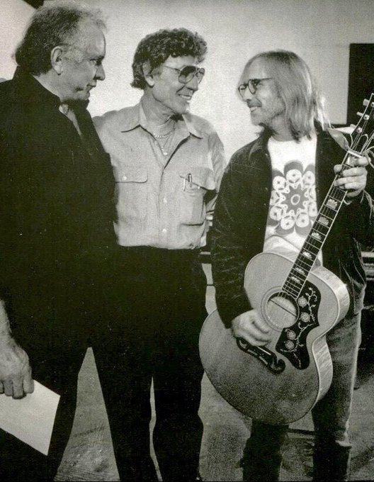 Happy Birthday Tom Petty  Oct. 20, 1950 ~ Oct. 2, 2017 Here With Johnny Cash & Carl Perkins...