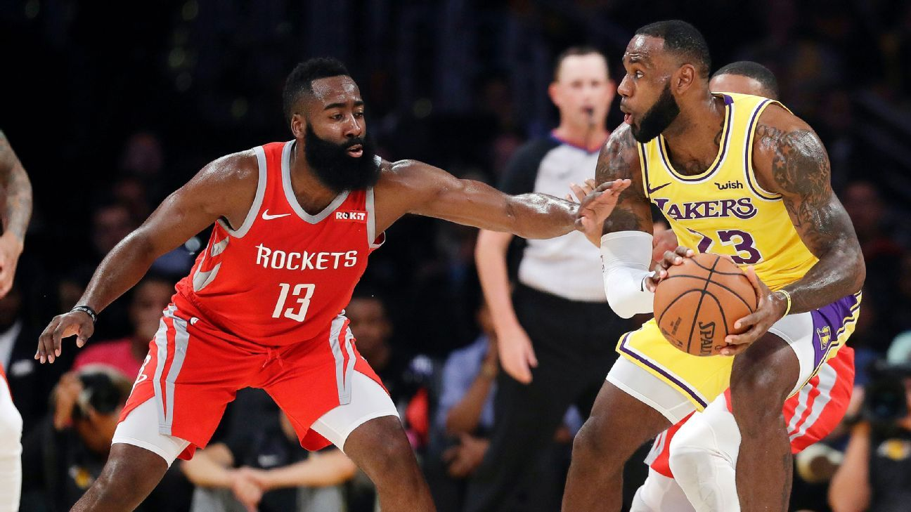 Scrum erupts late in Rockets-Lakers game https://t.co/Ho7uvhhbkO https://t.co/28P9tHFaIV