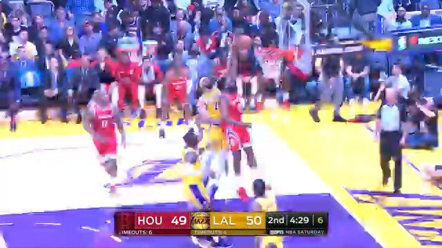 James Harden puts up 36 PTS, 7 REB, 5 AST to guide the @HoustonRockets to victory in LA! #Rockets #KiaTipOff18 https://t.co/ZdE6kQNDJC