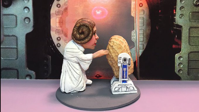 Happy Birthday to my favorite princess Carrie Fisher.