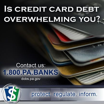 PA Department Of Banking And Securities On Twitter Struggling With Credit Card Debt Not Sure If The Interest Rates You Are Being Charged Is Legal In