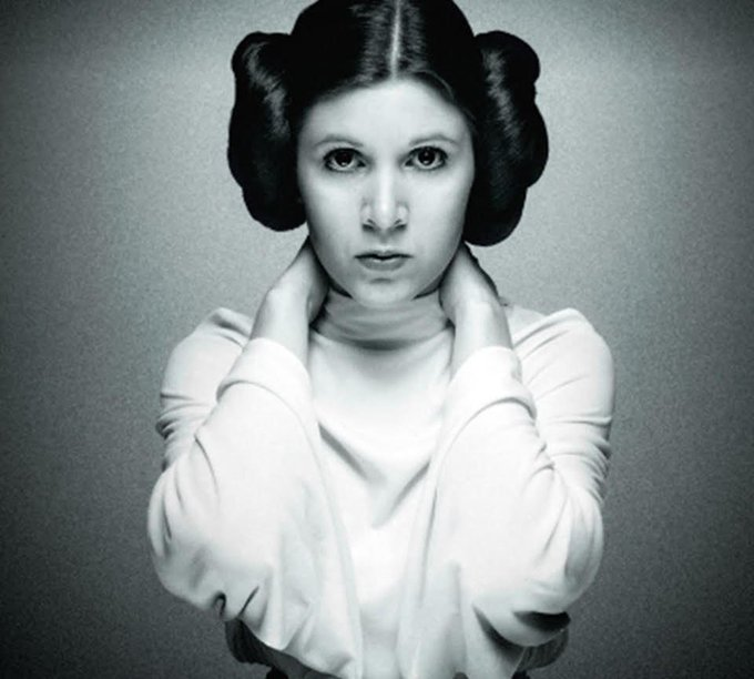 Happy birthday Carrie Fisher!!!!