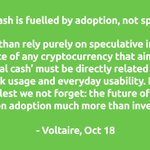 Image for the Tweet beginning: Continue reading:   Voltaire is an
