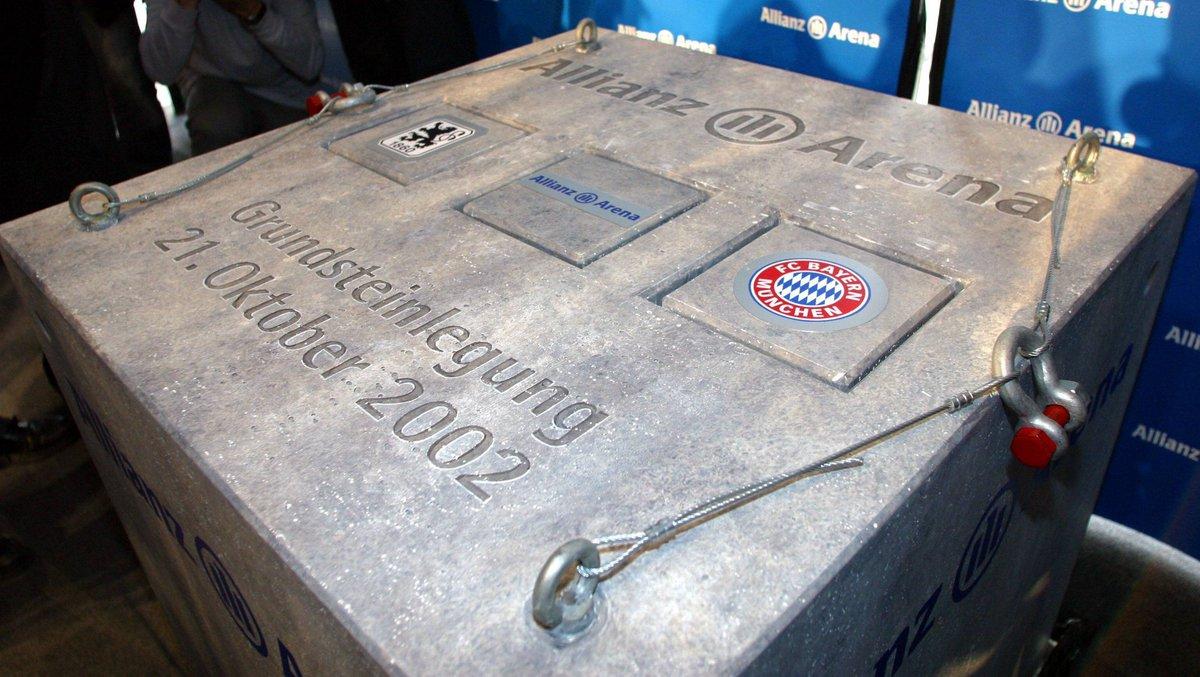 Heute vor 16 Jahren wurde der Grundstein für unsere wunderschöne #AllianzArena gelegt! 🏟️