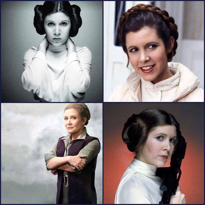 Happy Birthday to Carrie Fisher who would of been 62 today.