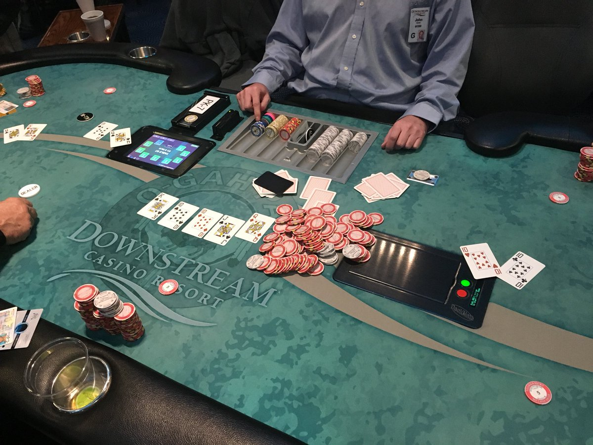 Downstream Poker Room On Twitter The Mega Hits Again Dcrpoker 140 439 Split Among The Lucky Players Quad Ten S Beat By A King High Straight Flush Jesse Jones Hand Was Beat And