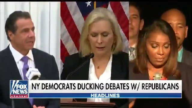 With just 16 days until the midterm elections, New York Democrats dodge debates with their GOP challengers https://t.co/fgV5tQtNNC