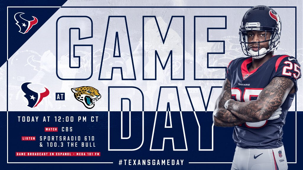 Best day of the week!  #HOUvsJAX