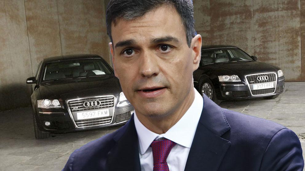 El Gobierno de Pedro Sánchez gastará 8 millones en comprar 142 nuevos coches oficiales okdiario.com/general/2018/1…