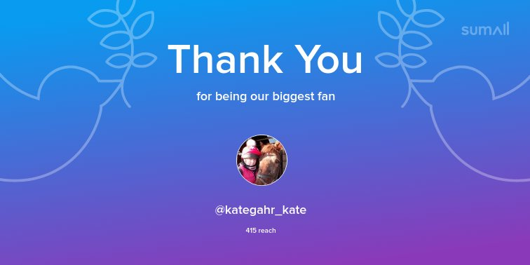 test Twitter Media - Our biggest fans this week: @kategahr_kate. Thank you! via https://t.co/Smxnf7IYIv https://t.co/YJcyUQ2vPJ