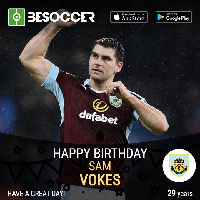 Happy birthday to striker Sam Vokes!