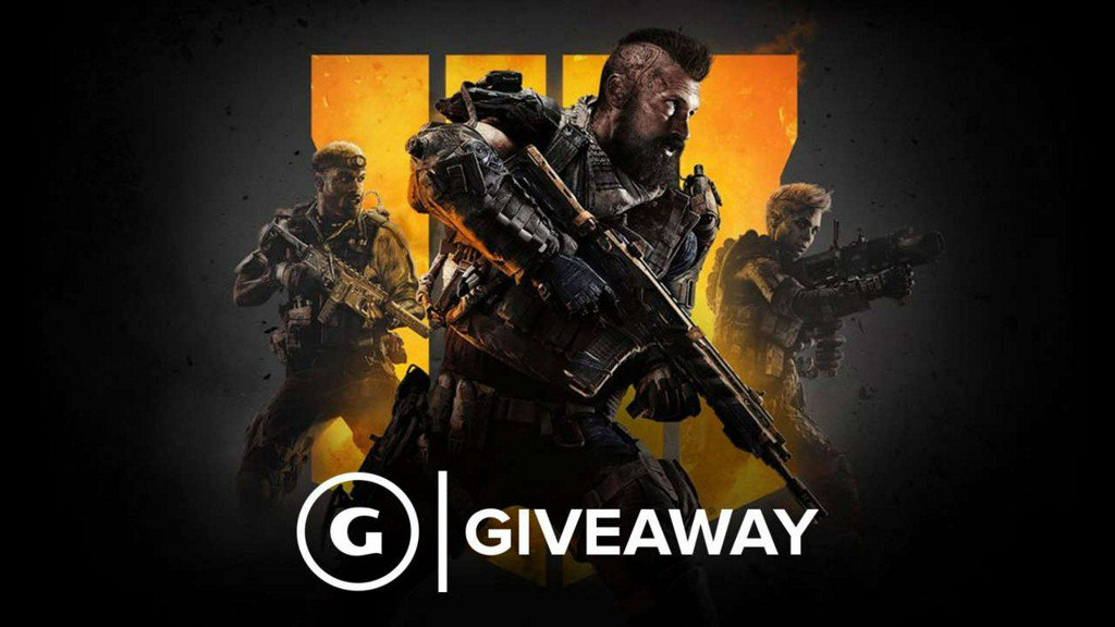 We're giving away codes for Call Of Duty: Black Ops 4 for free (value: $60) https://t.co/Xtvyc2nNj1